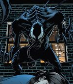 Conrad Marcus (Earth-1610) and Venom (Symbiote) (Earth-1610) from Ultimate Comics Spider-Man Vol 1 16.1 0001
