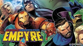 EMPYRE 1 Marvel Comics Trailer