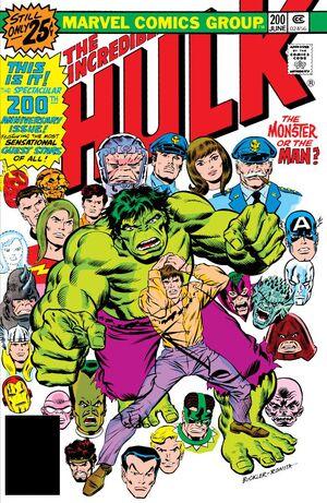 Incredible Hulk Vol 1 200