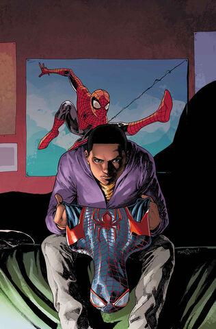 File:Miles Morales Ultimate Spider-Man Vol 1 2 Textless.jpg