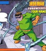 Otto Octavius (Earth-9411) Marvel Heroes (UK) Vol 1 1