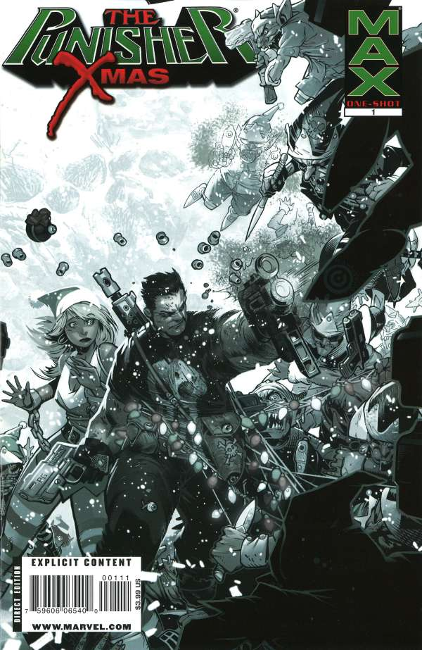Punisher MAX- X-Mas Special Vol 1 1