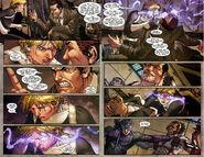 Secret Warriors (Earth-616) and H.A.M.M.E.R. (Earth-616) from Secret Warriors Vol 1 8 0001