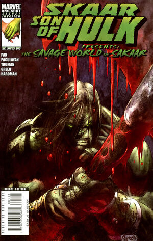 Skaar Son of Hulk Presents - Savage World of Sakaar Vol 1 1