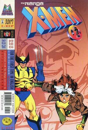 X-Men The Manga Vol 1 7
