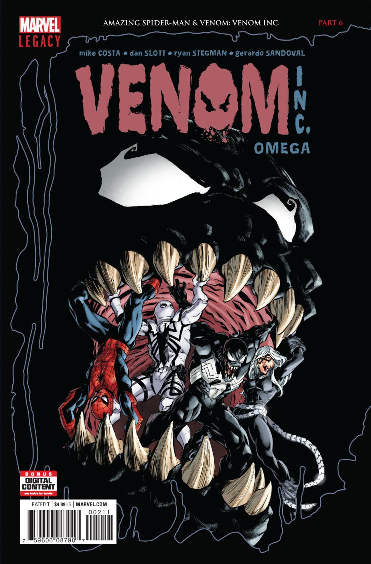 amazing spider-man: venom inc. omega vol 1 1   marvel database