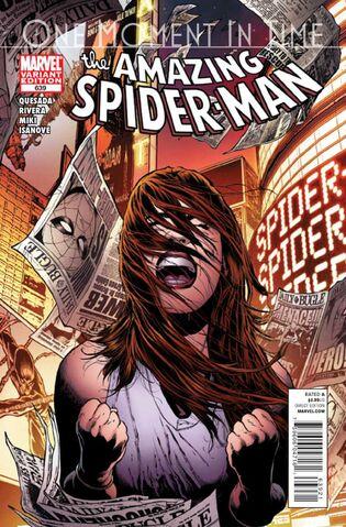 File:Amazing Spider-Man Vol 1 639 Quesada Variant.jpg