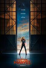 Captain Marvel (film) poster 001