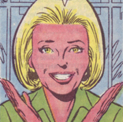 Dinah (Earth-616) from Web of Spider-Man Vol 1 44 001