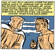Doctor Dooms mindswap reversed from Fantastic Four Vol 1 10