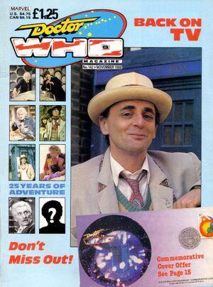 Doctor Who Magazine Vol 1 142