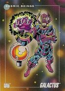 Galactus (Earth-616) from Marvel Universe Cards Series III 0001