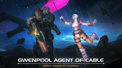 Gwenpool Agent of Cable Marvel Contest of Champions
