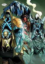 Horsemen of Apocalypse (Earth-16558) from Extraordinary X-Men Vol 1 8 001