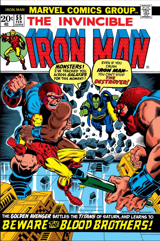 Resultado de imagem para Iron Man #55