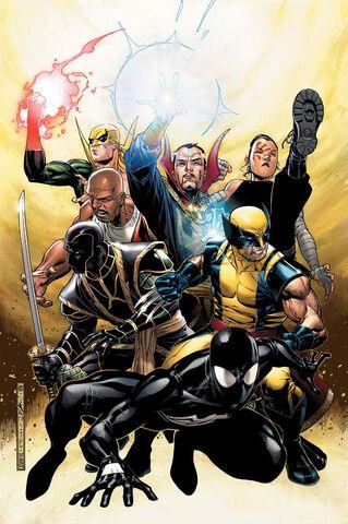 File:New Avengers Annual Vol 1 2 Textless.jpg