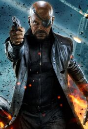 Nicholas Fury (Earth-199999) from Marvel's The Avengers Wallpaper 0001