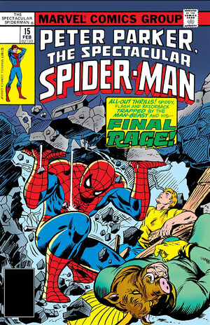 Peter Parker, The Spectacular Spider-Man Vol 1 15