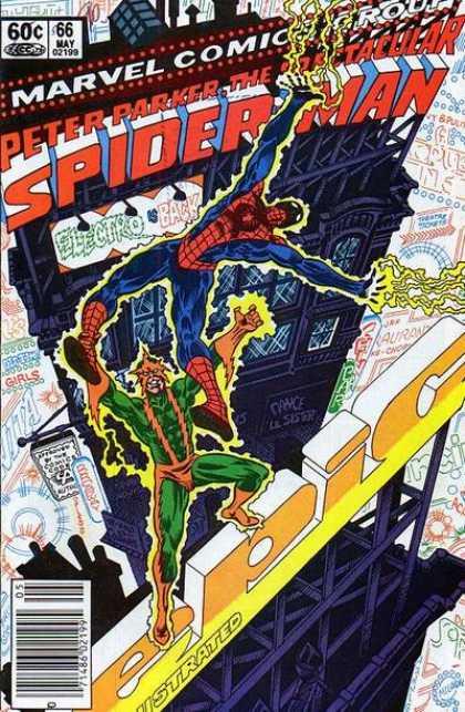 Peter Parker, The Spectacular Spider-Man Vol 1 66