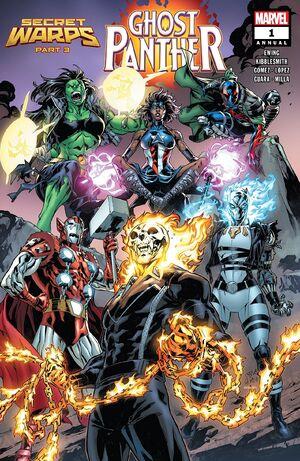 Secret Warps Ghost Panther Annual Vol 1 1