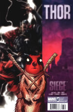 Thor Vol 1 607 Deadpool Variant