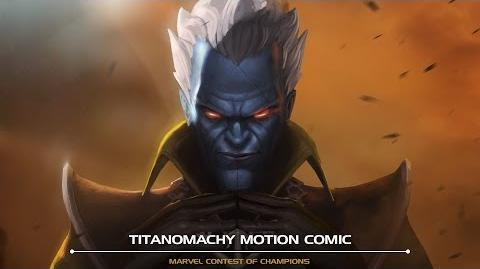 Titanomachy Motion Comic Marvel Contest of Champions