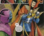 William Kaplan (Earth-11051) and Nathaniel Richards (Kang) (Earth-11051) from Avengers The Children's Crusade - Young Avengers Vol 1 1 001