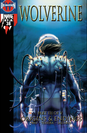 Wolverine Vol 3 38