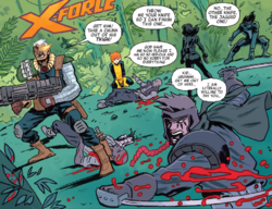 X-Force (Earth-TRN656) from X-Men Worst X-Man Ever Vol 1 2 001