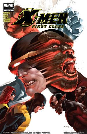 X-Men First Class Vol 1 6