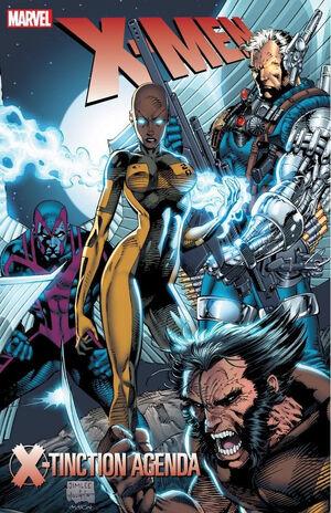 X-Men X-Tinction Agenda Vol 1 1