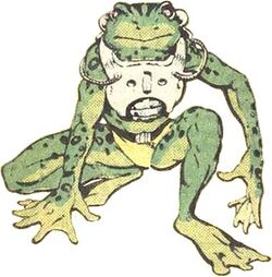 Amphibius (Earth-616) from Official Handbook of the Marvel Universe Vol 2 11 0001