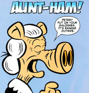 Aunt Ham from Ultimate Civil War Spider-Ham Vol 1 1 0001