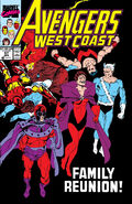 Avengers West Coast Vol 1 57