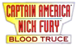 Captain America Nick Fury Blood Truce (1995) logo