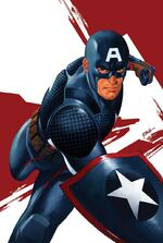 Captain America Steve Rogers Vol 1 1 Epting Variant Textless