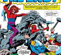 Demon Riders (Mogul servants) (Earth-616) from Thor Vol 1 144 0001
