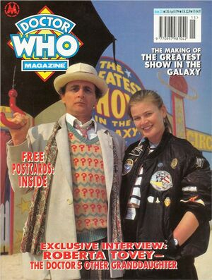 Doctor Who Magazine Vol 1 211