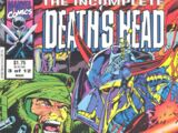 Incomplete Death's Head Vol 1 3