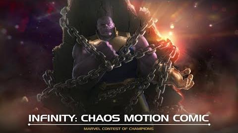 Infinity Chaos Motion Comic Marvel Contest of Champions