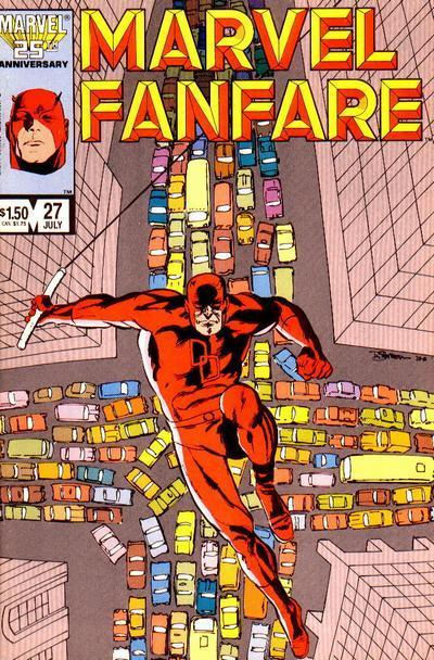 Marvel Fanfare Vol 1 27