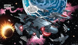 Shi'ar Imperial Fleet (Earth-616) from War of Kings Vol 1 1