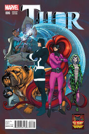 Thor Vol 4 6 50 Years of Inhumans Variant