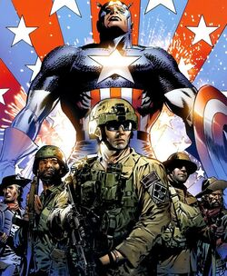 United States Army (Earth-616) from Captain America Theatre of War - Ghosts of My Country Vol 1 1 001