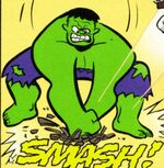 Bruce Banner (Earth-6513) from Franklin Richards WORLD be WARned Vol 1 1 0001