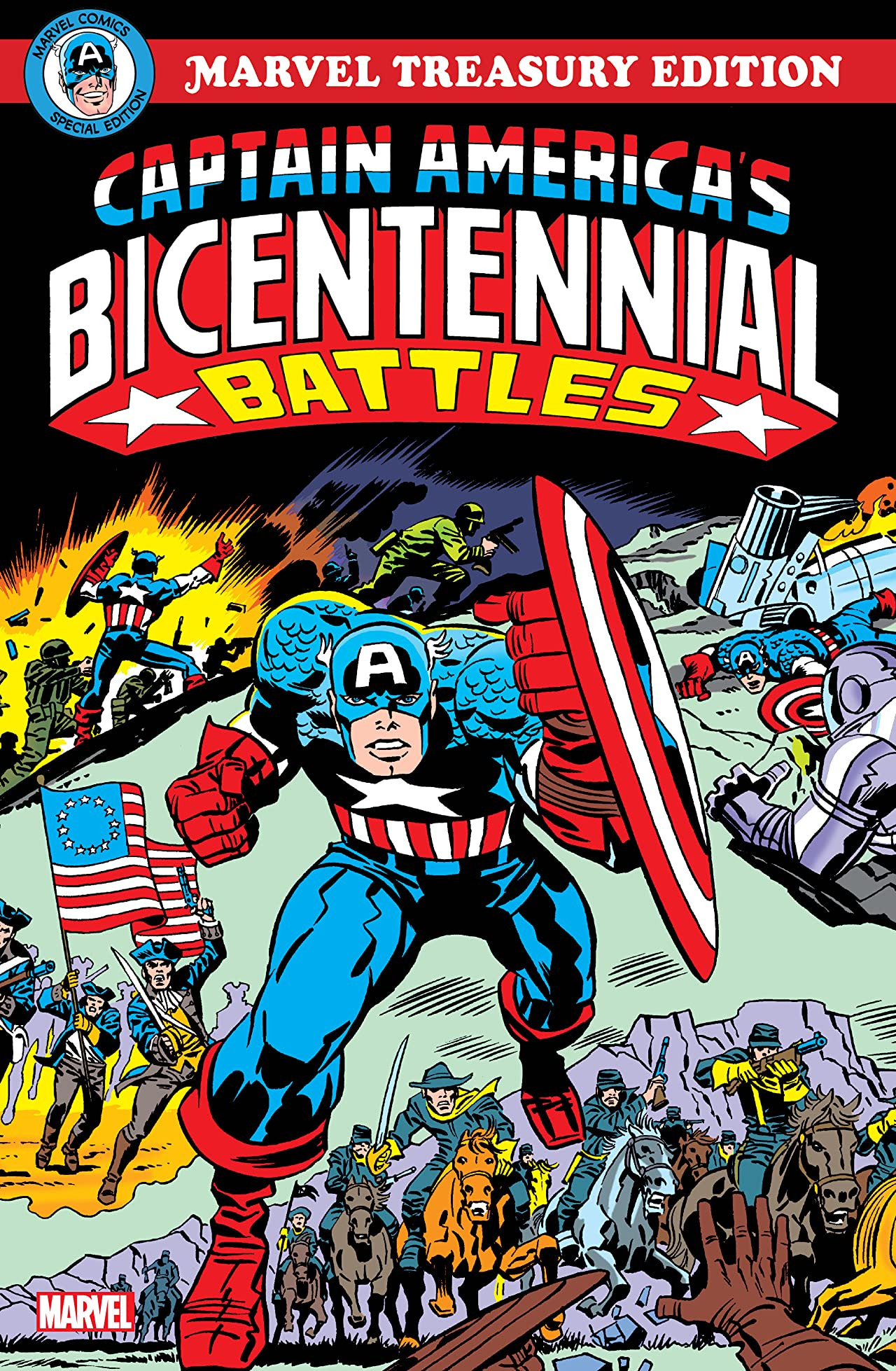 Captain America's Bicentennial Battles Vol 1 1