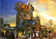 Guardians of the Galaxy - Mission BREAKOUT! (attraction) Concept Art 001