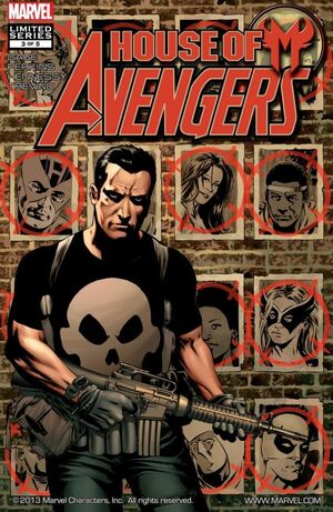 House of M Avengers Vol 1 3