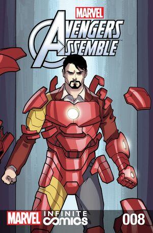 Marvel Universe Avengers Infinite Comic Vol 1 8