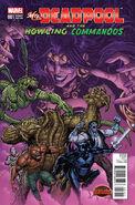 Mrs. Deadpool and the Howling Commandos Vol 1 1 Bradshaw Variant